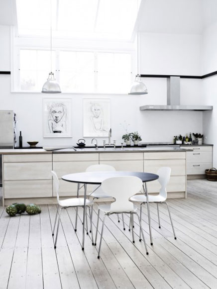 Helle Küche Ideen von Fritz Hansen