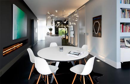 Herrenhaus mit modernem Raumgestaltung
