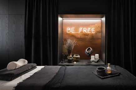 Das inspirierende Interieur des Kalama Relax Centre