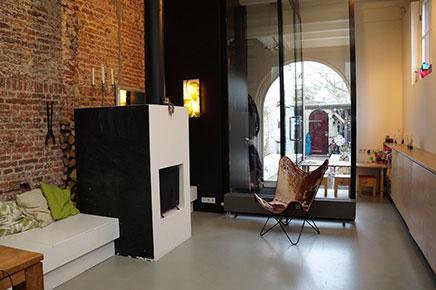 Historischen speicherstadt renoviert durch architekten wohnideen einrichten - Interieur oud huis gerenoveerd ...