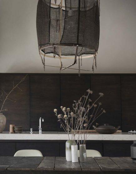 houten eettafel kookeiland