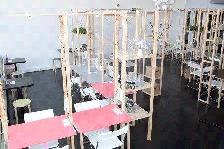IKEA einrichtung von IkHa restaurant