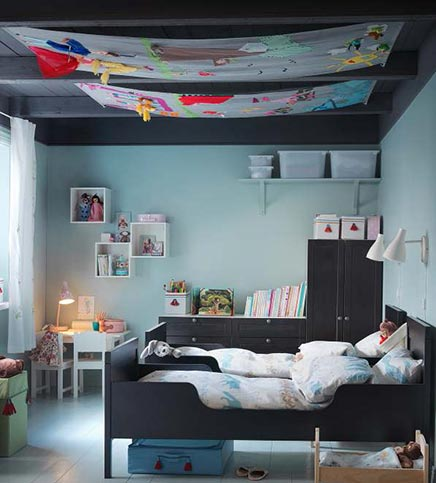 ikea kinderzimmer 2013 wohnideen einrichten. Black Bedroom Furniture Sets. Home Design Ideas