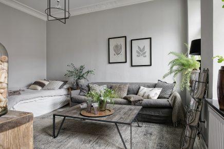 Bei Alvhem Bin Ich Auch Eine Super Schöne Kleine Wohnung Mit Einer  Wohnfläche Von Nur 34m2, Wo Das Wohnzimmer Und Das Schlafzimmer Sind In  Einer Sehr ...
