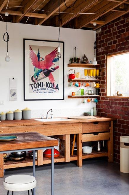 Industrielle Küche von Architekt Emilio Fuscaldo