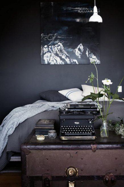 Vintage Schreibmaschine als Dekoration | Wohnideen einrichten