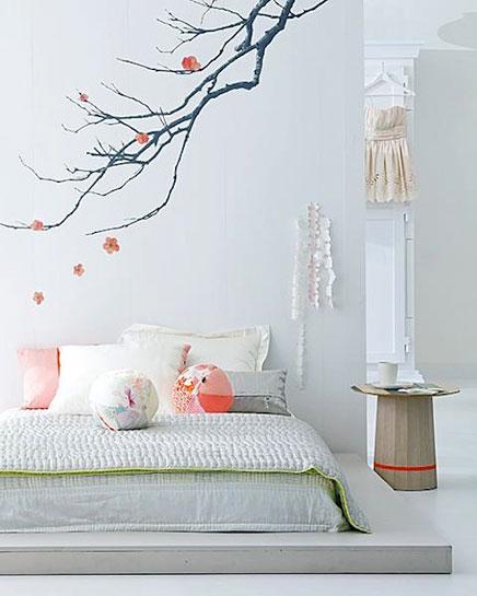 Japanischen Zen Schlafzimmer