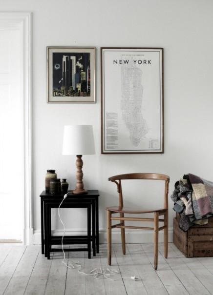 kaart-new-york-poster