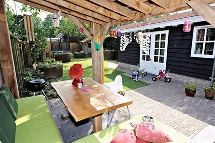 Kinderfreundlich Garten Ideen aus Zevenbergen
