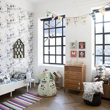kinderzimmer von ferm living wohnideen einrichten. Black Bedroom Furniture Sets. Home Design Ideas