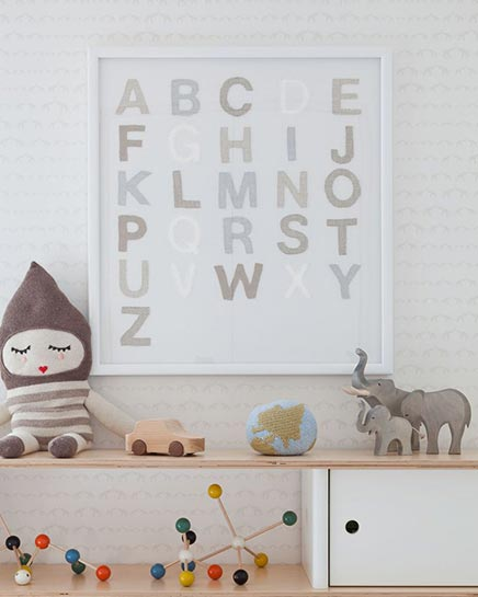 Kinderzimmer Idee mit Elefanten Thema