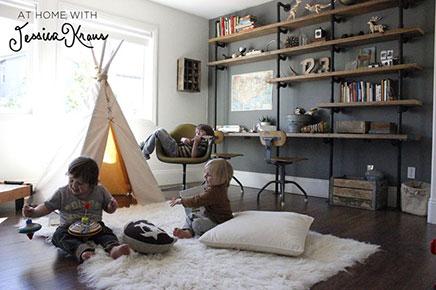 Kinderzimmer ideen drei jungen