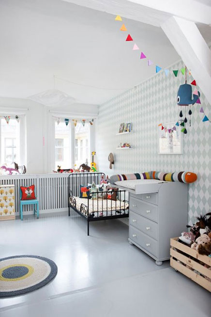 kinderzimmer ideen von ferm living wohnideen einrichten. Black Bedroom Furniture Sets. Home Design Ideas