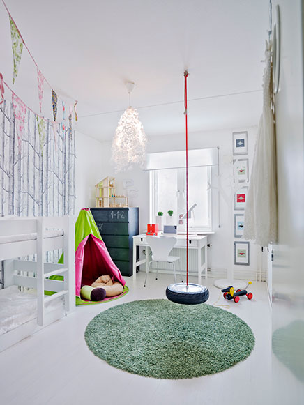 Schön Kinderzimmer Mit Lustigen Accessoires