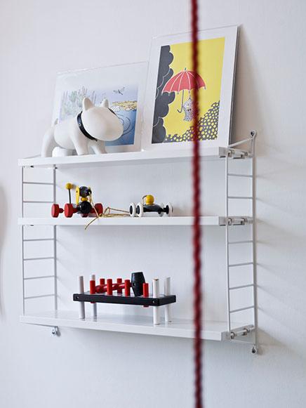 Kinderzimmer mit lustigen Accessoires