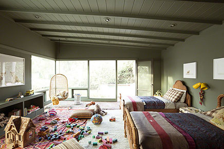 Kinderzimmer mit Natur Thema