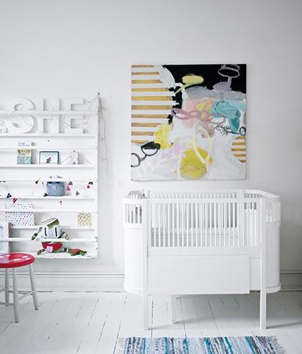 Kinderzimmer von Schmuckdesigner Stine A. Johansen