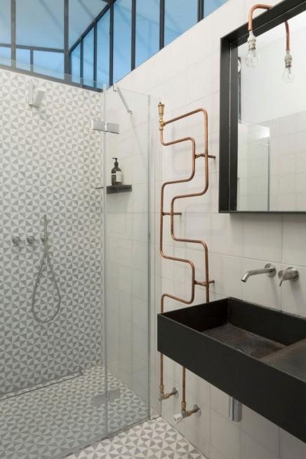 Kleine Industriedachboden Badezimmer | Wohnideen einrichten