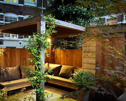 kleine stadt garten aus amsterdam wohnideen einrichten. Black Bedroom Furniture Sets. Home Design Ideas
