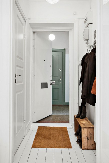 kleine und wei wohnung von 22m2 wohnideen einrichten. Black Bedroom Furniture Sets. Home Design Ideas