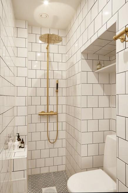 kleine-weise-badezimmer-goldenen-details