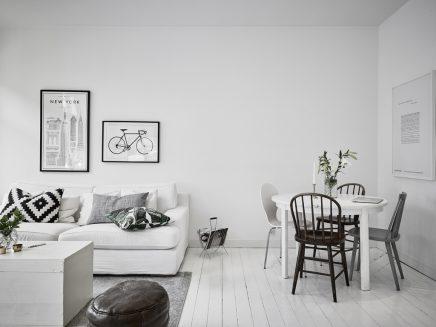 Kleine Weise Wohnzimmer Mit Weisen Mobeln (4)