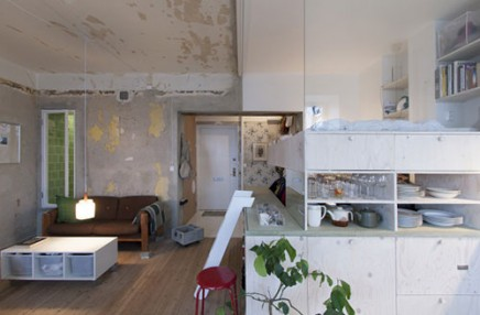 Kleine Wohnung Annehmlichkeiten (2)