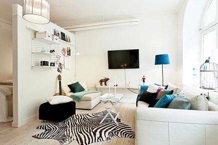 Kleine Wohnzimmer teilen mit schlafzimmer
