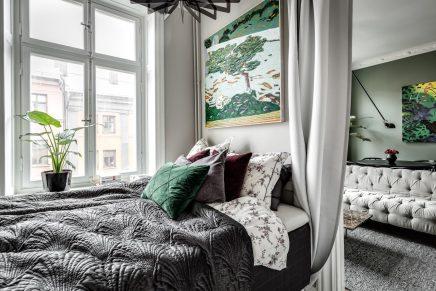 kleines schlafzimmer mit gro en schrank wohnideen einrichten. Black Bedroom Furniture Sets. Home Design Ideas