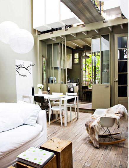 Kleines Studio Loft von 40m2 in Paris