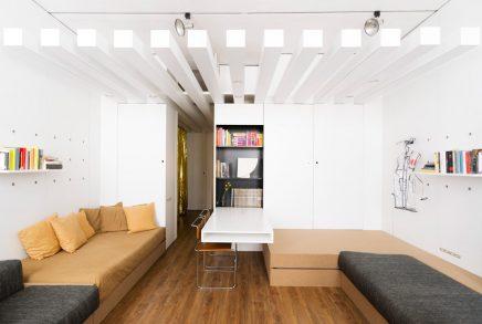 ... Der In Einer Kleinen Wohnung Von 42m2 In Einer 70er Wohnung Lebt. Wie  Klein Die Wohnung Ist Das Wohnzimmer Super Spaß Und Dekoriert Inspirierend!