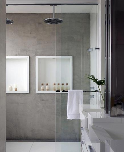 Konkrete badezimmer durch Fábio Galeazzo