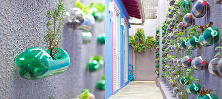 Kreative Ideen für Haushalt Balkon oder Garten