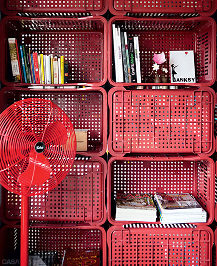 Storage idé foyer