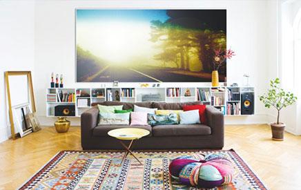 Kreatives wohnzimmer von Fotografen Joachim und Maria