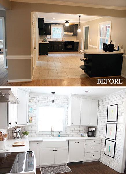 Küche Renovierung von Ashley & Greg