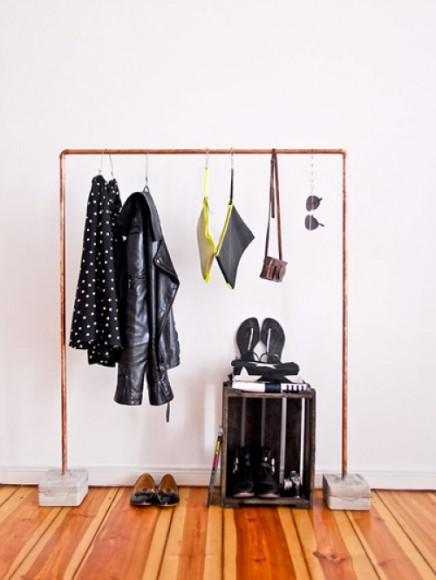 kupfer kleiderst nder wohnideen einrichten. Black Bedroom Furniture Sets. Home Design Ideas