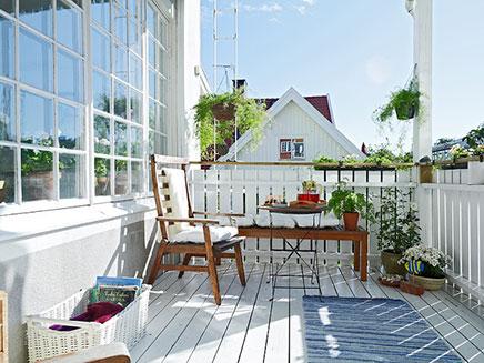 Landlich Balkon