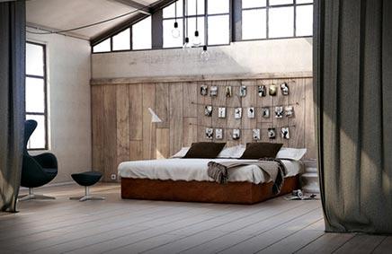 Lebensechte schlafzimmer
