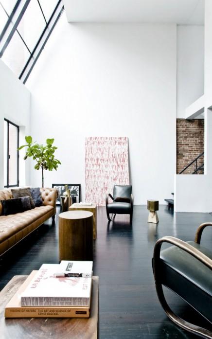 loft wohnzimmer in alten j dischen schule wohnideen einrichten. Black Bedroom Furniture Sets. Home Design Ideas