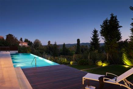 Luxuriose raumgestaltung villa barcelona