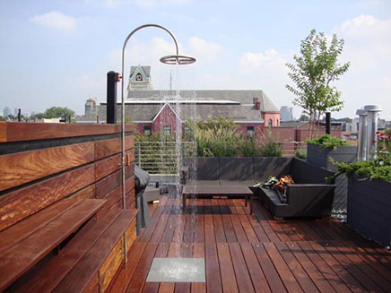 Luxus Dachterrasse Ideen aus New York