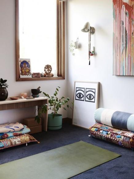 Meditationsraum einrichten wohnideen einrichten for Raumgestaltung yoga