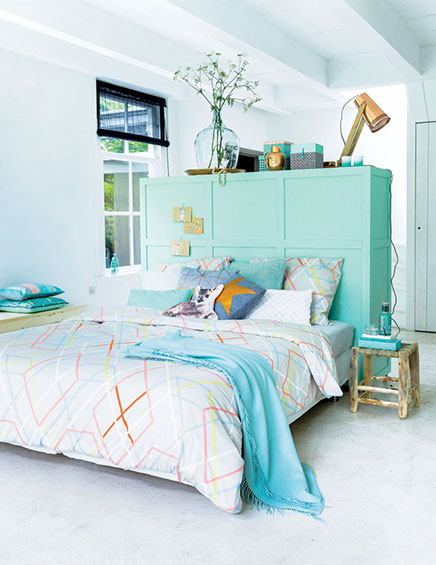 mehrzweck raumteiler im schlafzimmer | wohnideen einrichten - Schlafzimmer Mit Raumteiler