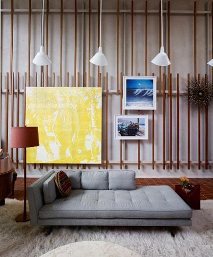 Mid-century wohnzimmer in San Francisco