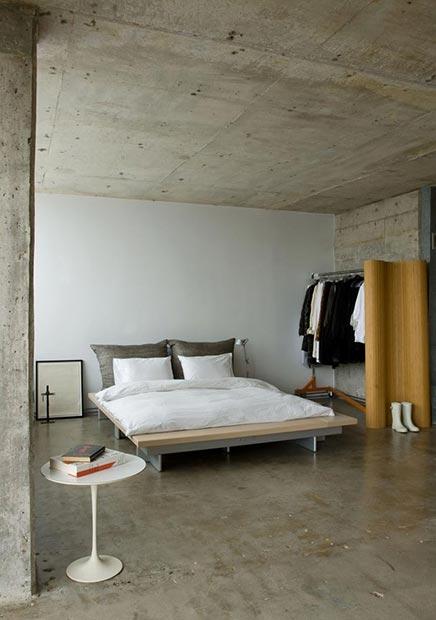 Minimalist Schlafzimmer von Barbara Hill
