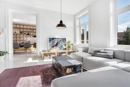 Minimalistisches schönes Wohnzimmer aus Oslo | Wohnideen ...