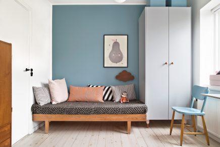 mix aus retro und skandinavischen m beln im kinderzimmer von 6 j hrigen olivia wohnideen. Black Bedroom Furniture Sets. Home Design Ideas