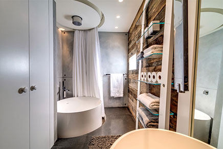 Moderne Badezimmer In Millionen Wohnung