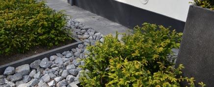Moderne Vorgarten